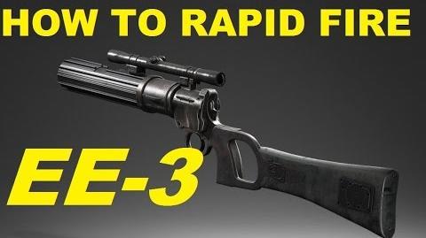 SWBF EE-3 Rapid Fire How To