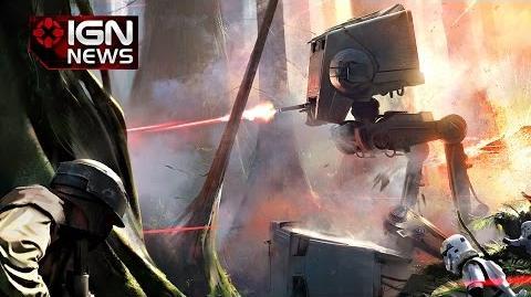Star Wars Battlefront Stunning Endor Concept Art Revealed - IGN News
