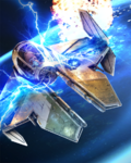 Boost Card Yoda Actis-class Light Interceptor - Charged Ion Capacitors