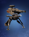 SWBFII DICE Ability Card Officer - Improved Blaster Turret large