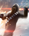 SWBFII DICE Boost Card Chewbacca - Shocked And Vulnerable large
