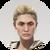 Human 7 - Ingrid - Ponytail Icon