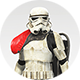 Stormtrooper Red Body Icon