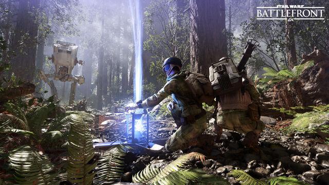 File:Star Wars Battlefront - Endor.jpg