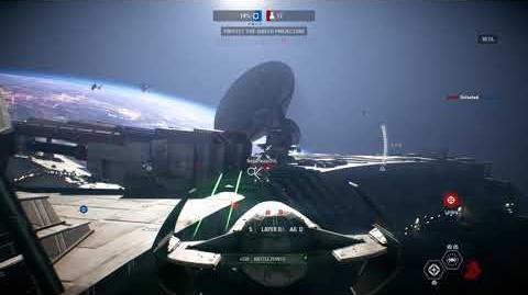 Star Wars Battlefront II Beta; Darth Maul's Scimitar