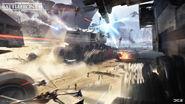 Kashyyyk Concept Art - Republic Juggernauts - Anton Grandert