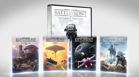 Star Wars Battlefront Ultimate Edition Trailer