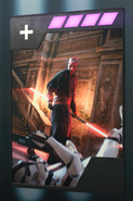 SWBFII DICE Boost Card Darth Maul - Savage