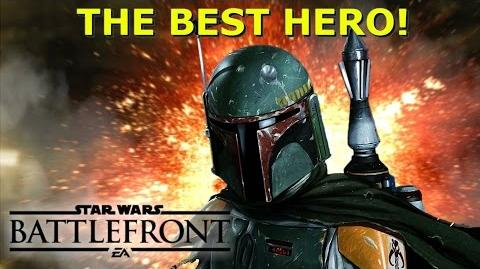 BOBA FETT IS THE BEST HERO! Star Wars Battlefront Gameplay & Guide PS4 HD