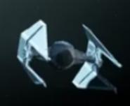 Tie in interceptor no holagram