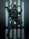 SWBFII Boba Fett Victory Pose - Menace From Above