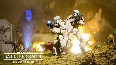 Star Wars Battlefront 2 New Planet, Modes, and Reinforcement — Community Update