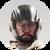 Human 4 - Jin - Helmet Beard Icon