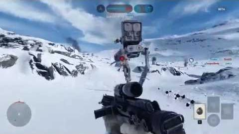 Star Wars Battlefront - Walker Assault - Hoth Multiplayer Beta Gameplay 2015
