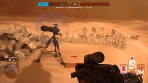 Battlefront - Bataille Tatooine - Maître sans mouriren solo