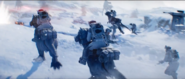 Tauntauns on Hoth