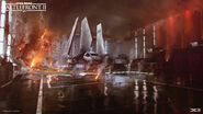 Death Star II Concept Art - Hanger - Esbjörn Nord