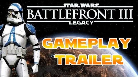 Battlefront III Legacy - Clone Wars GAMEPLAY-TRAILER by DarthDio