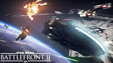 Star Wars Battlefront 2 Official Starfighter Assault Gameplay Trailer