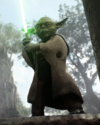 SWBFII DICE Boost Card Yoda - Opposing The Dark Side large
