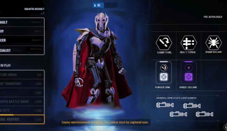 Star Wars Battlefront I, II, III: Гривус ворвался в Star Wars Battlefront 2