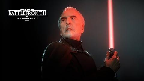 Star Wars Battlefront II Community Update – Count Dooku
