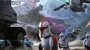 Kashyyyk Concept Art - Republic Clone Troopers - Anton Grandert