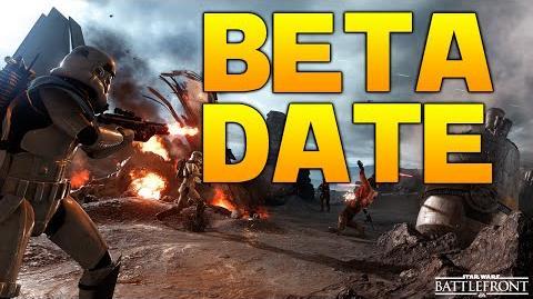 Star Wars Battlefront Beta News BETA DATE, LEVEL CAP & MORE!