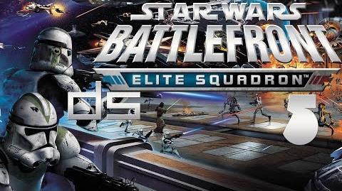 Star Wars Battlefront Elite Squadron 5 - The Desolation Station DS Walkthrough