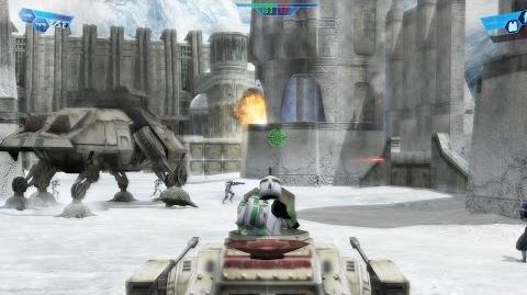 Star Wars Battlefront 1 gameplay Rhen Var harbor Clone Wars mission 6