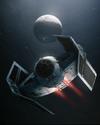 Boost Card Darth Vader TIE Advanced x1 - Engine Heat Dissipator
