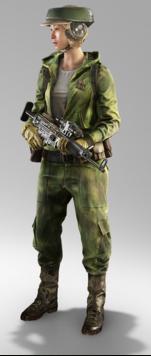 Rebel Soldier