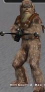 Snow Wookiee 1