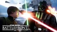 Vader luke battle