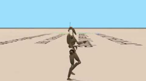 Battle Droid Dancing