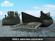Landing Craft Mechanized render 2