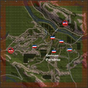 4405-Raid on Drvar map