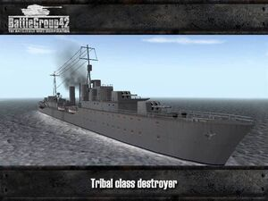 Tribal-class destroyer 1