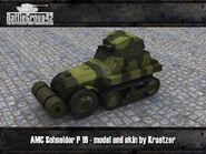 AMC Schneider P 16 render