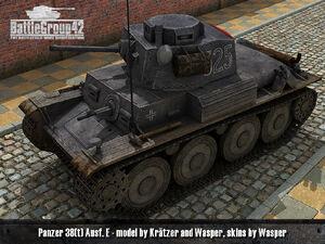 Panzer 38(t) render 1