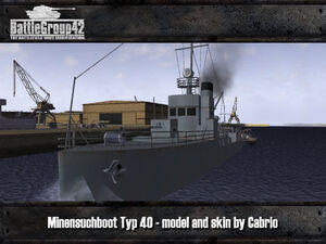 Minensuchboot Typ 40 1