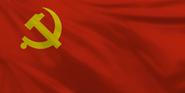 China Communist flag