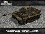 Tiger I early render 2