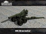 M1 howitzer render