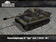 Tiger I early render 3