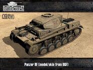 Panzer II render desert