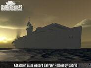 Attacker-class escort carrier 2