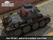 Panzer 38(t) render 2