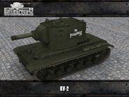 KV-2 render