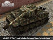 Tiger I late render 2